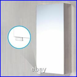 Modern Compact Cloakroom Suite Full Pedestal Basin Mirror & Close Coupled Toilet