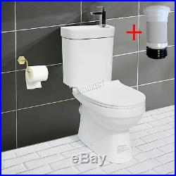 WestWood 2IN1 Combi Toilet With Basin Sink Tap Cloakroom Bathroom Suite WC Unit
